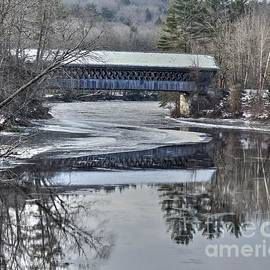 New England College Covered Bridge by Steve Brown