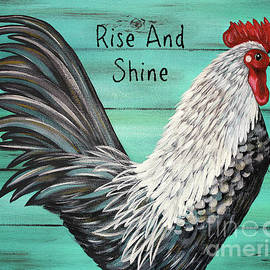 Tina LeCour - Rise And Shine Rooster