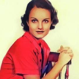John Springfield - Rochelle Hudson, Vintage Actress