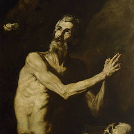 Saint Paul The Hermit by Jusepe de Ribera