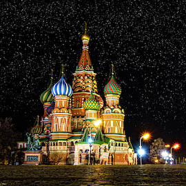 St. Basil Cathedral by Alexey Stiop