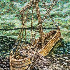 They Dropped Their Nets and Left Their Boat to Follow Jesus by Stephen Vattimo