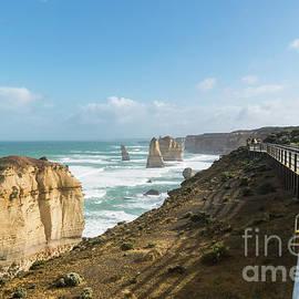 Twelve Apostles Sea Rocks by Didier Marti
