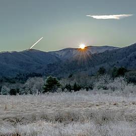 Winter Sunrise by Marcy Wielfaert