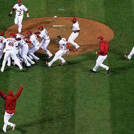 2011 World Series Game 7 - Texas by Doug Pensinger