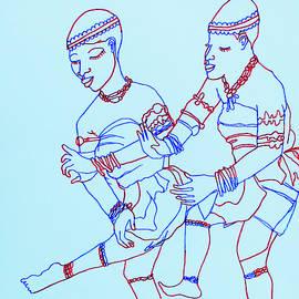 Adowa Traditional Dance Ghana by Gloria Ssali