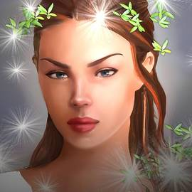 Beautiful Girl  by Nesrin Gulistan