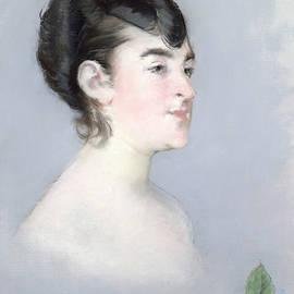 Mademoiselle Isabelle Lemonnier  by Edouard Manet