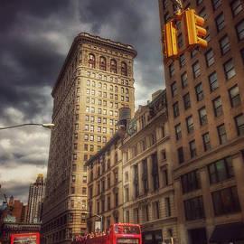 New York City Street Scene by Miriam Danar