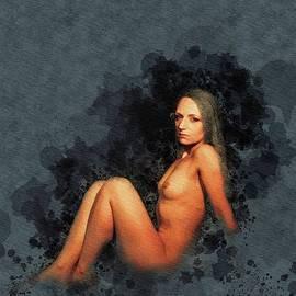 Mary Bassett - Nude Self Portrait by Mary Bassett