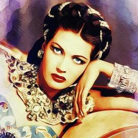 John Springfield - Yvonne De Carlo, Vintage Actress