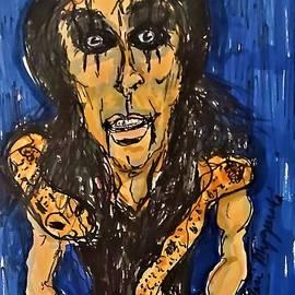 Alice Cooper by Geraldine Myszenski