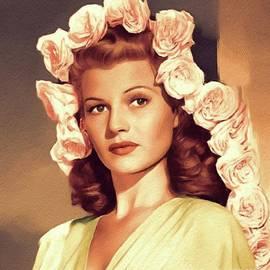 John Springfield - Rita Hayworth, Vintage Movie Star