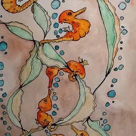 5 Seahorses by Robert Hilger