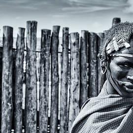 4117 Maasai Warrior Ngorongoro Tanzania by Amyn Nasser - Neptune Images