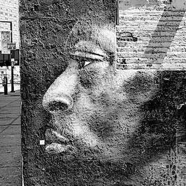 5 Pointz Grafitti Art 7 - B and W         by Allen Beatty