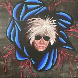 Bex Schoof - Andy Warhol #7 100 Faces Project