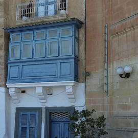 A Blue Maltese Entrance by Christiane Schulze Art And Photography