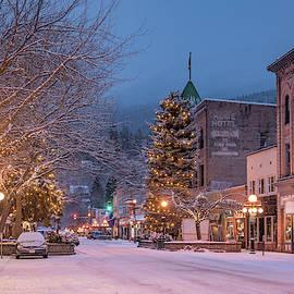 A Christmas Card Town by Joy McAdams
