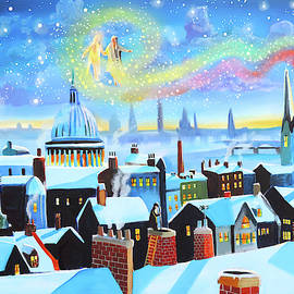 Gordon Bruce - A Christmas Carol Scrooge and the Ghost of Christmas Past
