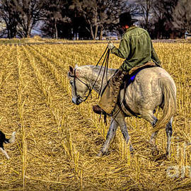 A Cowboy And His Friends by Janice Pariza
