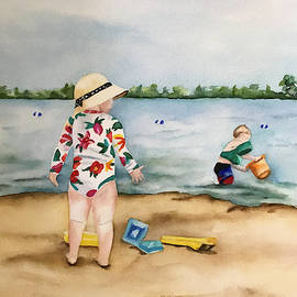 A Day At The Beach by Kimberly Lavelle