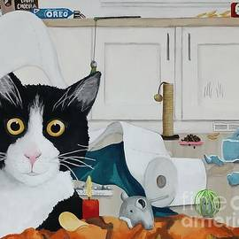 A Day in the Life of Phoebe The Cat by Danett Britt