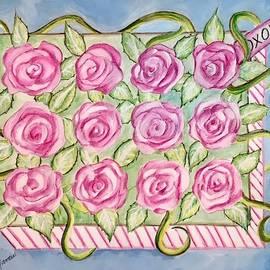 A Dozen Roses in a Box by Amy Barrow