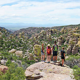 A Family at the Chiricahua National Monument, AZ, USA by Derrick Neill