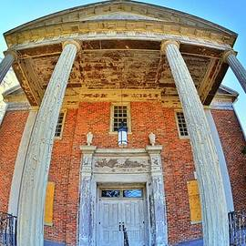 A Fisheye View Of The Chapel Of Hope by Lisa Wooten