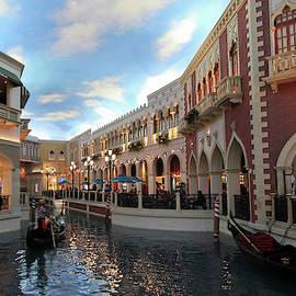 A Gondola Ride at the Venetian Resort, Las Vegas, NV, USA by Derrick Neill
