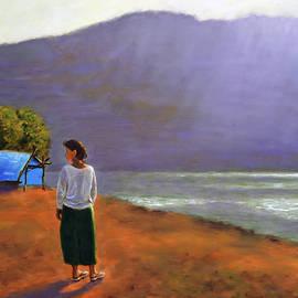 A lake in Munnar by Uma Krishnamoorthy