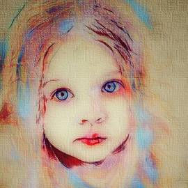 A little angel  by Angelina Anic