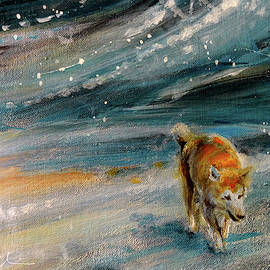 A Lonely Dog 02 by Miki De Goodaboom