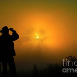 A magical misty morning by Veikko Suikkanen
