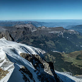 A Majestic View of Switzerland by Phyllis Taylor