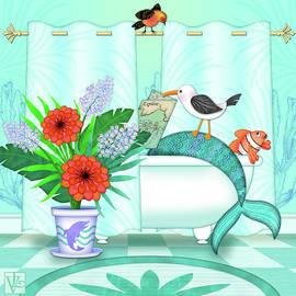 A Mermaid Moment by Valerie Drake Lesiak