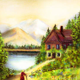 A Mountain Retreat by Hazel Holland