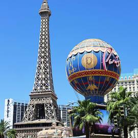 A Paris on the Strip Shot, Las Vegas, NV, USA by Derrick Neill