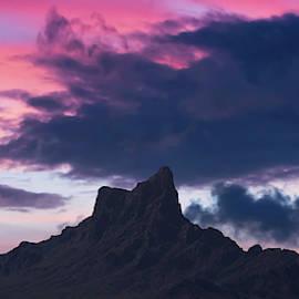 A Picacho Peak State Park Sunset Shot, Arizona by Derrick Neill