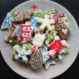 A Plate Full of Christmas Cookies by Derrick Neill