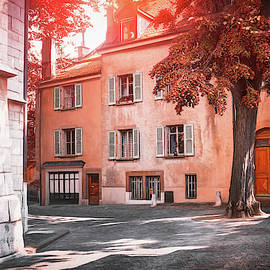 A Quiet Little Corner of Geneva Switzerland  by Carol Japp