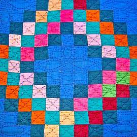 A Quilt Of Many Colors by James Temple