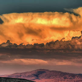 A Reno Summer Sunset by Donna Kennedy