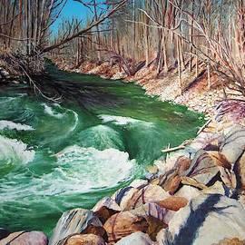 A River Runs Thru It by Sheldon Goldman