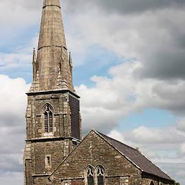 A St Edwens Church Scene, Llanedwen, Anglesey, Wales, GB, UK by Derrick Neill