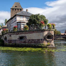 A Strasbourg River View by Phyllis Taylor