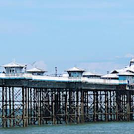 A Sunny Day on Llandudno Pier, Llandudno, Wales, GB, UK by Derrick Neill