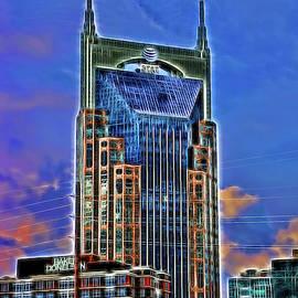 A T and T Building A K A The  Batman Building # 3 - Nashville  by Allen Beatty
