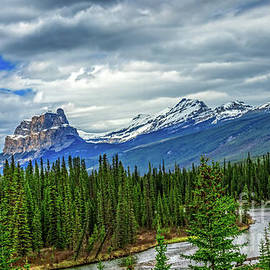 A View Of The Canadian Rockies  by Robert Bales